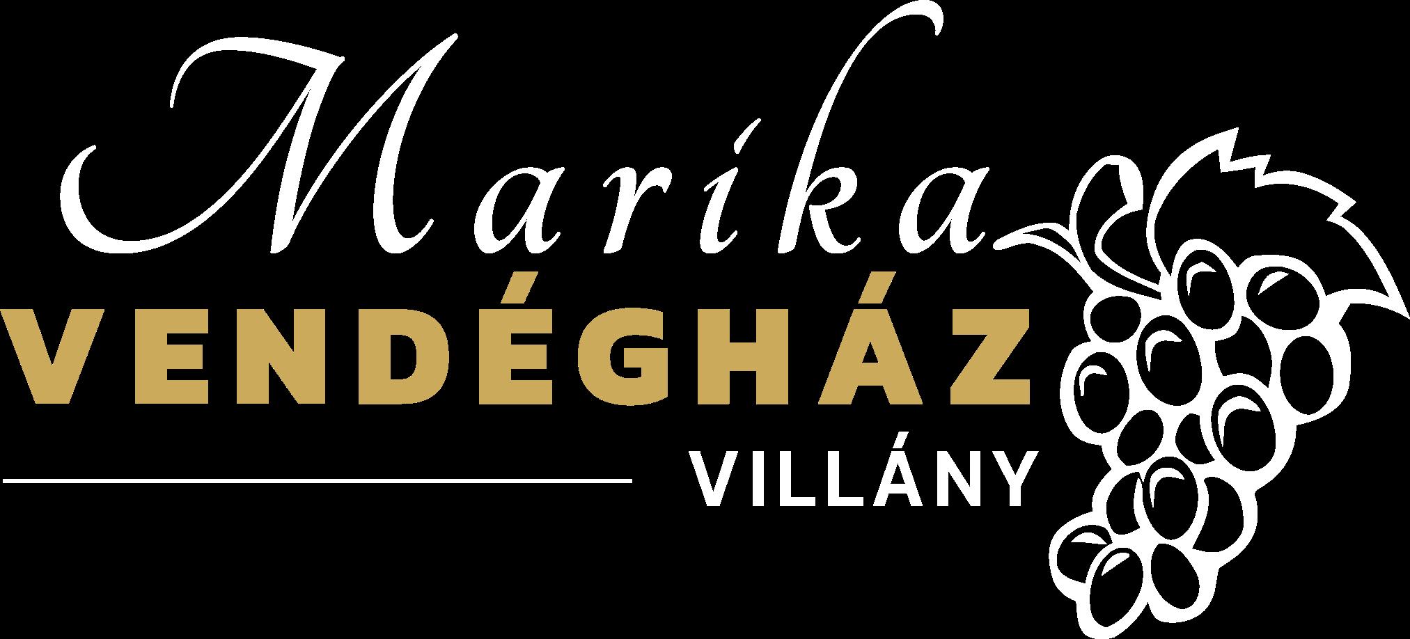 Marika Vendégház Villány logó